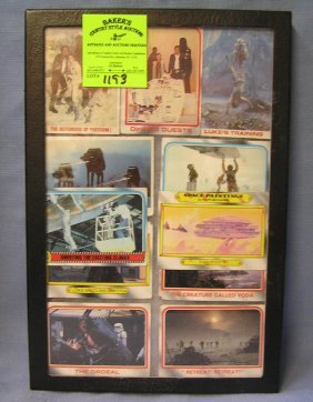 Group Of Vintage Star Wars Cards