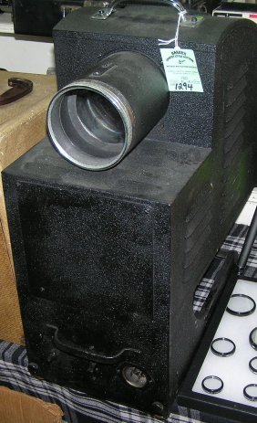 Large Military Style Movie Projector