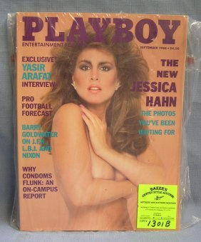 Playboy Magazine Featuring Jessica Hahn