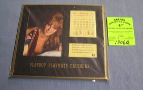 Vintage Unused Playboy Playmate Calendar