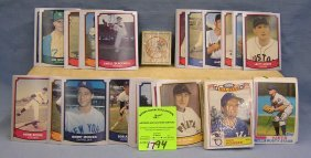 Half Box Of Vintage Mixed Baseball Cards