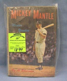 Early Mickey Mantle Mr. Yankee Baseball Book