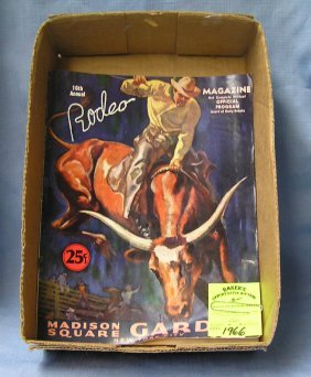 Pair Of Early Rodeo Programs