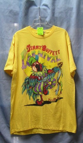Vintage Jimmy Buffet Carnival Concert Tour Shirt