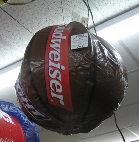 Inflatable Budweiser Promotional Basketball