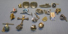 21 Piece Mostly Gentleman's Jewelry Group