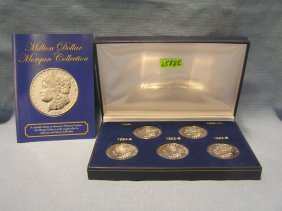 Million Dollar Morgan Silver Dollar Collection