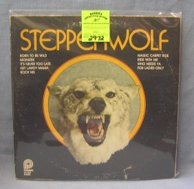 Vintage Best Of Steppenwolf Record Album