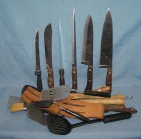 Box Full Of Professional Quality Kitchenwares