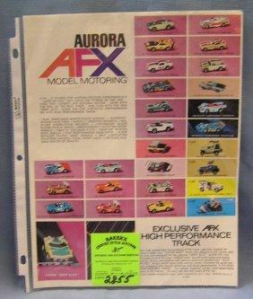 Vintage Aurora Afx Model Race Car Catalog