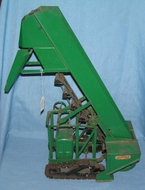 Early Doepke Toys Diesel Sand Or Gravel Loader