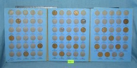 Vintage Lincoln Head Pennies 1909 To1940