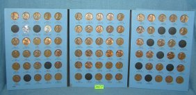 Six Books Of Vintage Lincoln Head Pennies