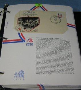 Amer. Revolution Bicentennial Stamp Collection