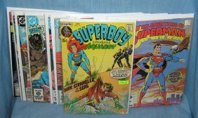 Group Of Superman And Related Comic Books