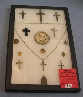 Group Of Early Religious Collectibles