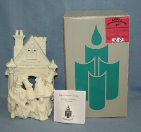 Bisque Figural Figurine With Original Box