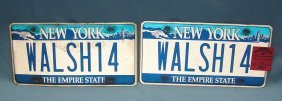 Ny Funeral Director's Personalized License Plates