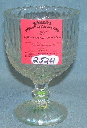 Vintage Crystal Goblet