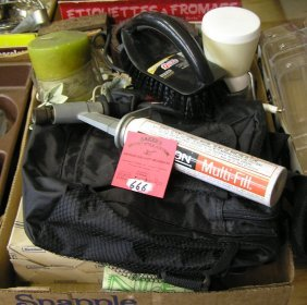 Box Of Misc. Estate Items