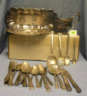 Quality Silver Plated Flatware And Serving Pieces