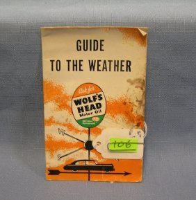 Wolfs Head Motor Oil Weather Guide Booklet