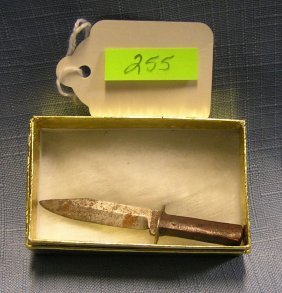 Early Miniature Bowie Knife