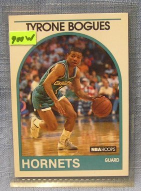 Vintage Tyrone Bogues Basketball Card