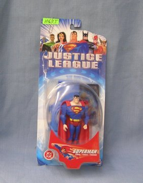 Justice League Superman Mint On Card