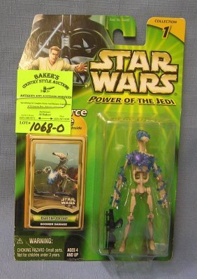 Vintage Star Wars Action Figure: Battle Droid