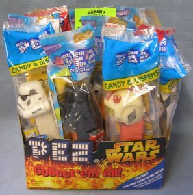 Star Wars Action Figure Pez Candy Containers