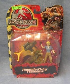 Jurassic Park Action Figure And Dinosaur Set