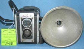 Vintage Kodak Duoflex 2 Camera And Flash Unit