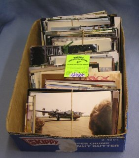 Large Group Of Over 550 Vintage Photos