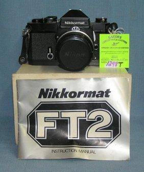 Nikon 35 Mm Camera With 50mm Lens