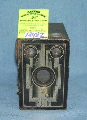 Early Kodak Brownie Box Camera
