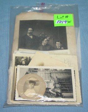 Bag Of Antique Photographs