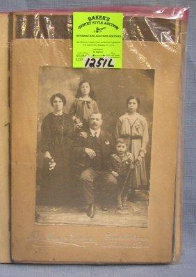 Group Of Antique Photos