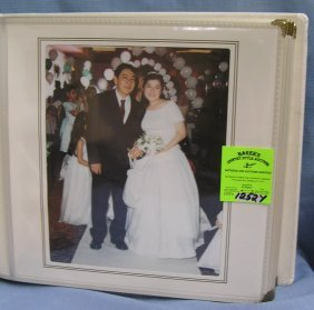 Large Modern Wedding Photo Album