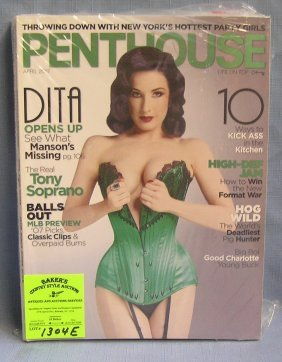 Collection Of Vintage Penthouse Magazines