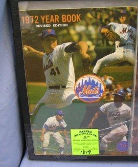 Vintage 1972 New York Mets Yearbook