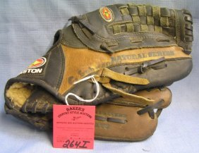 Vintage Easton Leather Baseball Glove