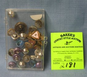 Group Of Vintage Buttons