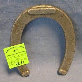 Vintage Horse Shoe All Cast Aluminum