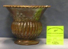 Hand Hammered Copper Vase