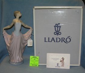Vintage Lladro Figurine Titled The De Ensayo Dancer