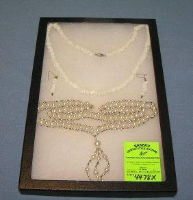 Pair Of Costume Jewelry Necklaces