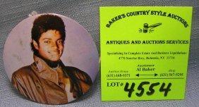 Vintage Pictorial Michael Jackson Promotional Tour