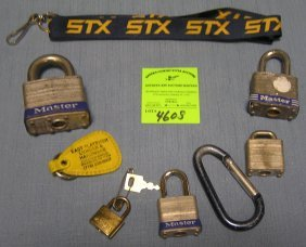 Collection Of Contemporary Locks, Keys And Accessories