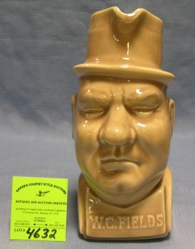 Early Figural Wc Fields Pitcher